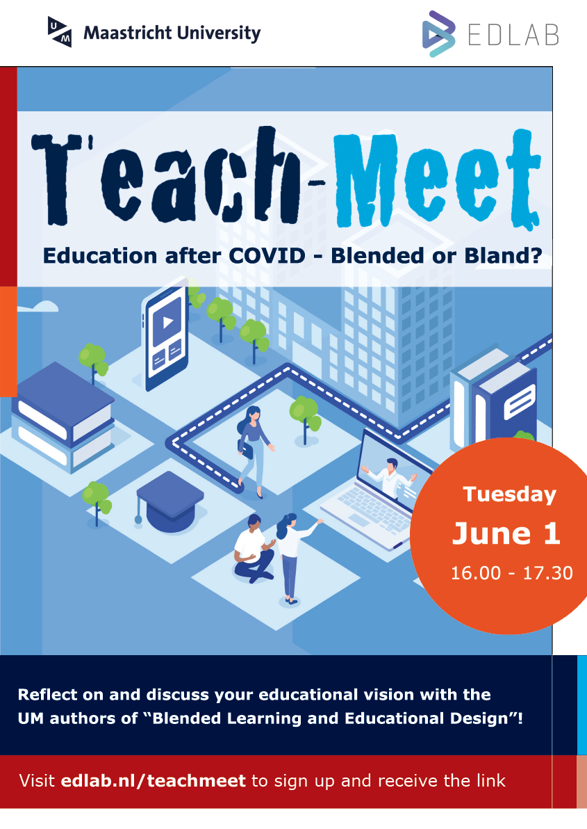 Final Teach-Meet Education after Covid poster